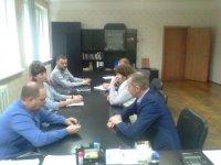 Заместитель министра посетил ГУП «Чувашгаз» Минстроя Чувашии