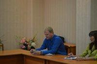 Сотрудники ГУП «Чувашгаз» Минстроя Чувашии выступили с докладом на совещании в г. Шумерля